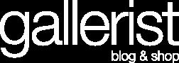 Gallerist Blog & Shop Logo